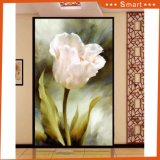 Modern Art Wall Art Lily Flower Decor Peinture à l'huile personnalisée / Papier peint pour Maison Décoration d'intérieur