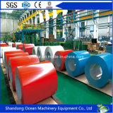 Las bobinas galvanizadas prepintadas favorables al medio ambiente/color del acero cubrieron las bobinas de acero/PPGI para los materiales de material para techos