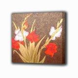 Pintura al óleo floral decorativa (240)