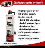 Gonfleur rapide de puate d'étanchéité de pneu de joint d'Aeropak