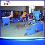 Máquina de estaca do CNC da tubulação e da placa do metal do CNC da flama do plasma do pórtico