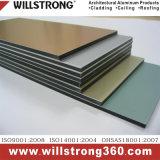 壁のクラッディングのためのWillstrong 4mmアルミニウム合成のMateiral Acm