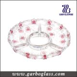 "13""Colorful Big Glass Plate (GB1709MH-1/PDS)"