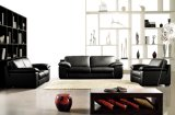 Il sofà di cuoio sezionale per il salone della Camera ha usato (L022)