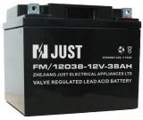 12V 38ah Storage Battery, VRLA Battery, UPS Battery