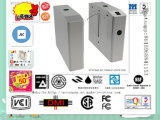 Semi-Auto porta esperta do aço 304 inoxidável, torniquete ótico, controle de acesso não supervisionado da porta de vidro do leitor de RFID para o escritório