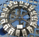주문을 받아서 만들어진 OEM/ODM 정밀도 정착물 CNC 기계로 가공 맷돌로 가는 지그