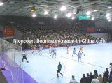 Rasterfeld-Typ Handball-Fliesen, modularer Handball-Gerichts-Fußboden, Plastikbodenbelag (Handball-Goldsilber-Bronze)