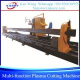cortadora del tubo 8-Axis del tubo del perfil del CNC de múltiples funciones del plasma/de la llama