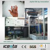 Icesta المياه الصناعية مبردة أنبوب آلة ثلج
