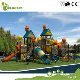 Безопасность спортивной площадки оборудования скольжения спортивной площадки новых детей безопасности напольная для малышей