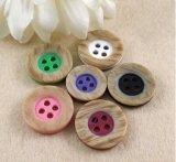 Botón de camisa del botón de la resina de la ropa de la alta calidad de la fábrica
