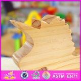 Unicórnio de madeira W05b151 de 2016 brinquedos novos das crianças do projeto