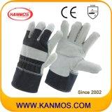 修繕されたやし産業安全の革靴のそぎ皮手作業手袋(11005-1)