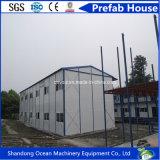 Casa pré-fabricada do edifício modular barato do material de construção leve da construção de aço