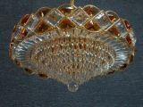 Lampe en cristal de plafond