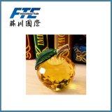 Apple di cristallo/ricordi a buon mercato di cristallo per la decorazione di natale