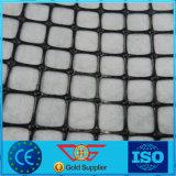 Plastic Hete Geogrid Gesmolten met Niet-geweven Stof Geosynthetic