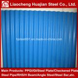 Tôles d'acier ondulées de panneau de mur de tuile de toiture de PPGI