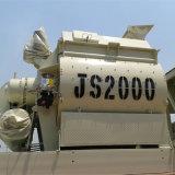 (JS2000II) Type neuf mélangeur concret forcé, machine concrète
