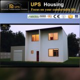 Fácil instalar y casa bien diseñada de la casa prefabricada del bajo costo