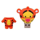 Tigre USB Pendrive de mémoire de flash USB de dessin animé