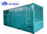 élément diesel silencieux du générateur 1250kVA, groupe électrogène 1000kw principal