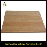 Декоративные деревянные панели алюминия строительных материалов зерна