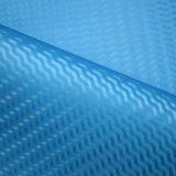 Vereiteltes Chemiefasergewebe PU-Leder-Webart-Rasterfeld-strukturiertes Beutel-Leder