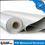 Versterkt pvc Waterproof Membrane voor Roof/Basement/Pool/Pond (ISO)