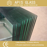 3-12mm Clear / Low Fer / Balustrade givrée / Guardrail Toughened Glass