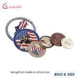 Moneta su ordinazione di sfida di governo dell'oro 3D della fabbrica
