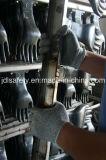 Anti-Couper demi de gant de travail d'enduit avec des nitriles (K8084-18)