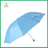 폴리에스테 물자 선전용 광고 방풍 우산