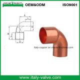 45 Grad-kupfernes Rohr-Krümmer-/Copper Befestigen (AV8006)