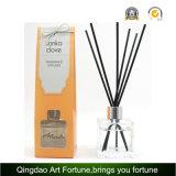 Venta caliente difusor de lámina perfumado de la fragancia de 50 ml con los palillos de la rota para la decoración casera