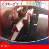 Máquina del mezclador de la arena con dos ruedas del rodillo