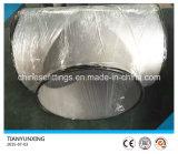 Gli accessori per tubi dell'acciaio inossidabile Ss321 hanno saldato il T uguale