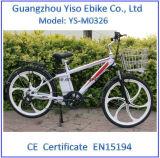 마그네슘 바퀴를 가진 26inch Li 이온 건전지 산 E 자전거