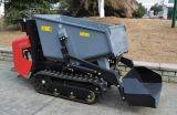 Le mini dumper Fw60, brouette de chenille hydraulique de pouvoir, a suivi le déchargeur, déchargeurs à vendre