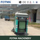 Máquina arrebatadora del camino de basura de la calle auto eléctrica de plomo de cuatro ruedas del compartimiento 240L