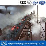 Bande de conveyeur en caoutchouc résistante à hautes températures d'EPDM
