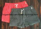 A tela de nylon embarca Shorts, Shorts impressos tira da praia do homem