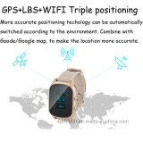 Взрослый GPS отслеживая приспособление с выдвинутой кожаный планкой (T58)