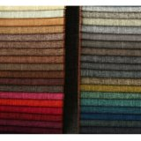 Prodotto variopinto intessuto di tintura del sofà del poliestere per stile europeo