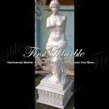 大理石像の石の彫像の花こう岩の彫像の白人のカラーラの彫像氏147