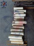 Alto rullo di plastica di resistenza all'usura di colore naturale