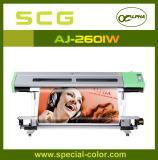 Eco-Solénoïde Dx5 Ink Color Printer d'alpha avec Double Printhead