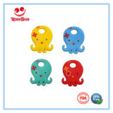 Bambino appena nato Teether del silicone del commestibile