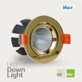 2016 alta qualità LED rotondo Downlights